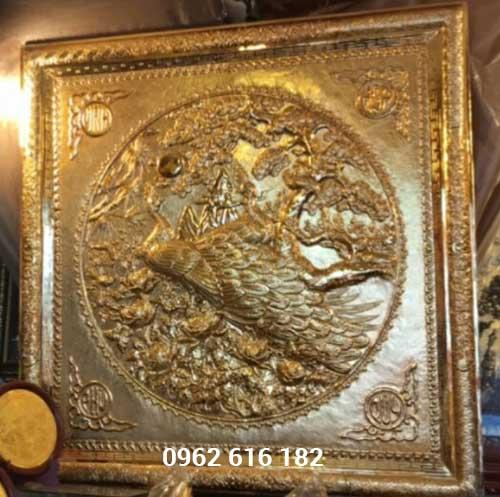 Ngọc đường phú quý mạ vàng 24k