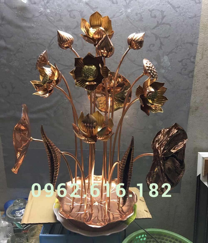 Hoa sen thờ cúng 01