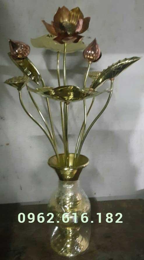 Hoa sen thờ cúng 07