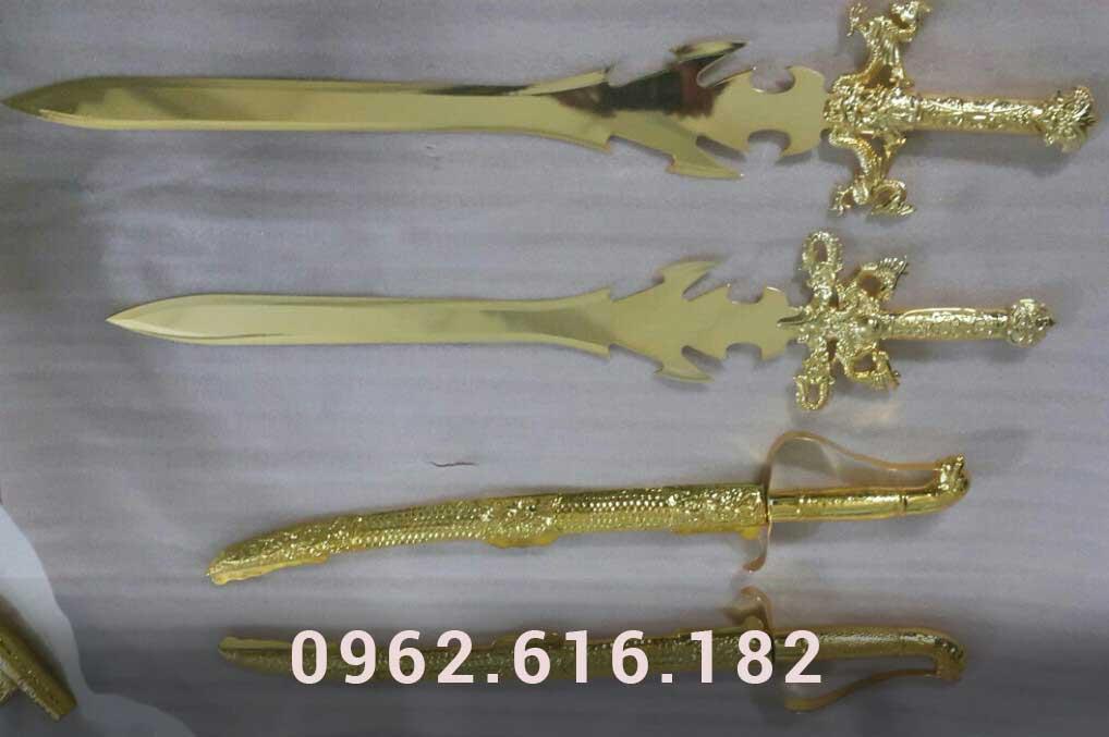 Kiếm đồng mạ vàng 24k