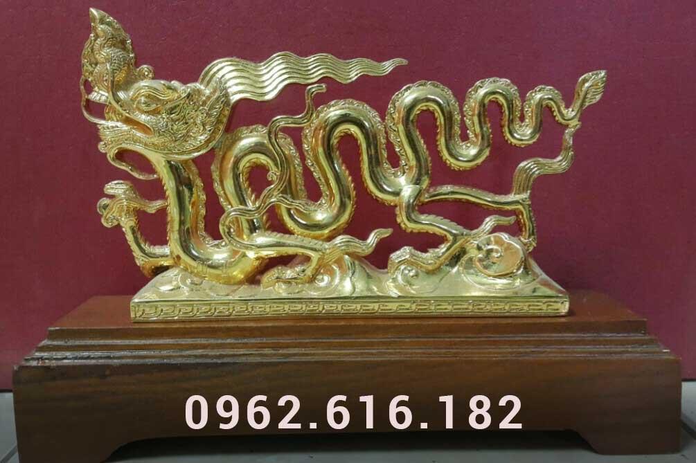 Rồng bằng đồng mạ vàng 24k