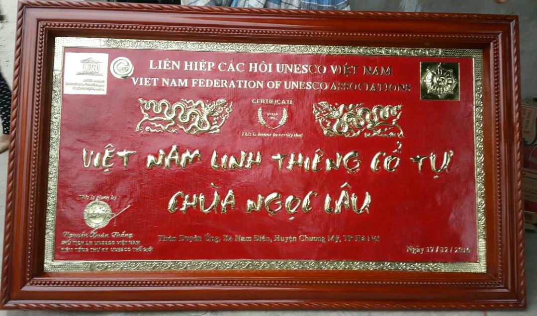 Trah đồng Liên hiệp các hội Unesco Việt Nam