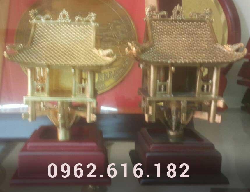 Tượng đồng chùa một cột mạ vàng 24k